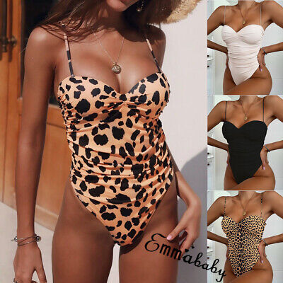 Sexy Women One Piece Swimsuit Bandage Bikini Beachwear Swimwear Bathing Suit Hot