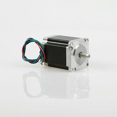 EU ship NEMA23 Stepper Motor 5A 1.8V 1.25N.M 76mm 4-leads Flat Shaft CNC machine