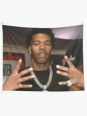 Lil Baby My turn 2020 album Wall Tapestry, Lil Baby Album Wall Hanging, Rapper