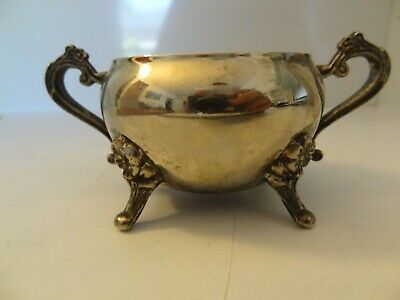 Vintage Silver Plated Small Sugar Bowl