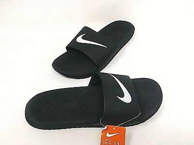 NEW! Nike Men's Kawa Slide Sandals Black/White #832646-010 81PQRS pp