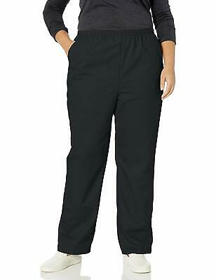 Chic Classic Collection Womens Pants Black Size 22W Plus Pull-On $28- 193