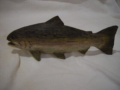 Trout Fish Resin Figurine Collectible/Decor