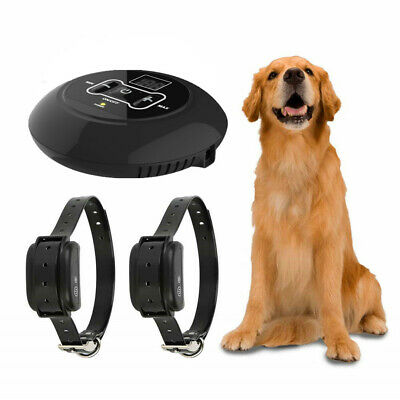 Wireless Electric Dog Fence Pet Containment System Shock Fence Collars Dogs