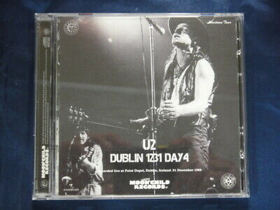 U2 Dublin 1231 Day4 Lovetown Tour 1989 CD 2 Discs Moonchild Records Music Rock