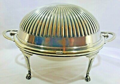 "Mappin & Webb Antique ""Prince's Plate"" Silver Plated Small Tureen Domed Server"