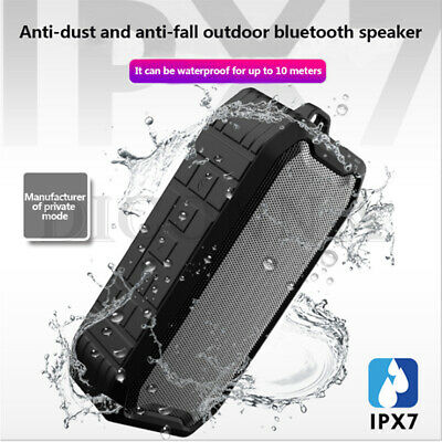 NEW Portable Wireless Bluetooth Outdoor Speaker Supports FM TF MP3 Functions