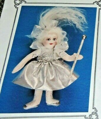 "Miniature Fairy Dust Doll Sewing Pattern Magical Princess Fabric Cloth 4"" Pretty"