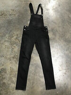 girls dungarees Age 13-14 Years Pepperts! Slim Fit Size 164 Black