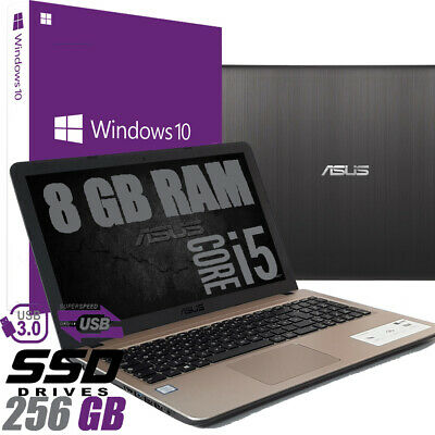 "Notebook ASUS VivoBook X540UA-GQ901 15.6"" Intel i5-8250U 8GB 256SSD WIN 10 PRO"