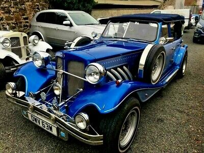 Electric Blue Beauford Tourer