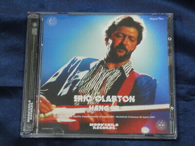 Eric Clapton Hang Up CD 2 Discs Set 17 Tracks 1987 Moonchild Records Music Rock