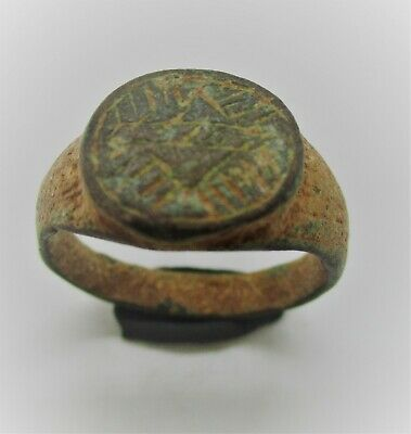Detector Finds Viking Era Norse Bronze Ring With Runic Engravings