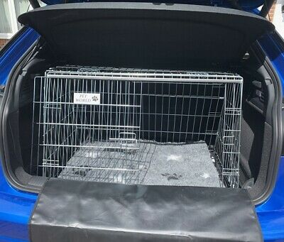 Range Rover Evoque Sloping Dog pet puppy travel training cage crate transporter