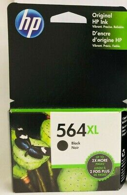 HP Genuine 564XL Black Ink Cartridge in OEM Packaging