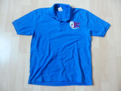 Junior Development Centre England Hockey Blue Polo Shirt Age 12-13