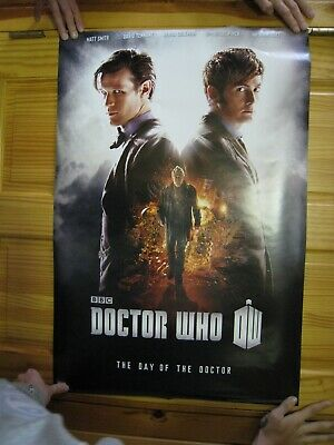 Dr Who Poster The Day Of The Doctor