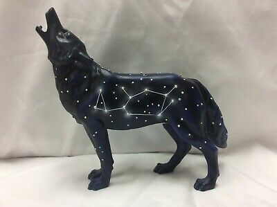 Call of the Wolf Constellation Wolf 2004 #14106 Westland Giftware Figurine