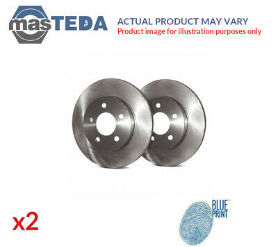 2x BLUE PRINT FRONT BRAKE DISCS SET BRAKING PAIR ADC443119 P NEW OE REPLACEMENT