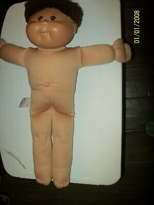 CABBAGE PATCH KID DOLL  TRU DOLLS   boy   2003 brown yarn hair