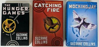 Lot of 3 Hunger Games Trilogy Complete Set Books by Suzanne Collins HC/PB