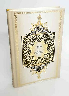 PORTUGUESE: The Noble Quran Translated into Portuguese Language (HB) x 5
