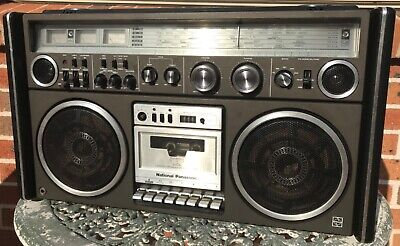 VINTAGE NATIONAL PANASONIC BOOMBOX model #RS-4360DFT - VERY RARE & COLLECTABLE!