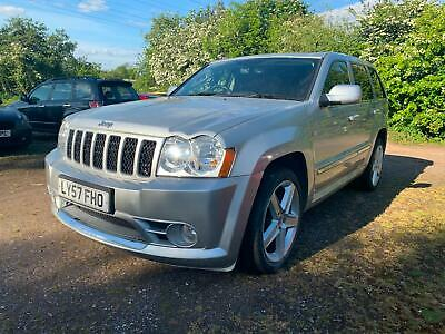 2007 57 Jeep Grand Cherokee 6.1 V8 420 Bhp Srt-8 Low 45K Full History Px Swaps
