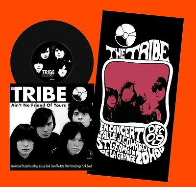 THE TRIBE, Ain't No Friend of Yours, 7'' Vinyl E.P, 199 Copies,1980s Garage Punk