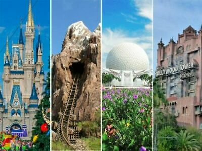 Walt Disney World PARK HOPPER TICKETS free shipping