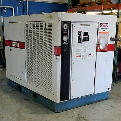 Used Gardner Denver 100 HP Rotary Screw Air Compressor CPQMC 480 Volt