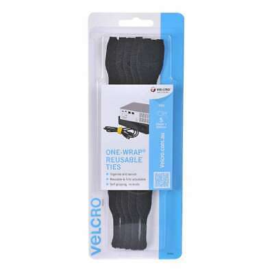 NEW Velcro One-Wrap Reusable Ties 5 Pack By Spotlight