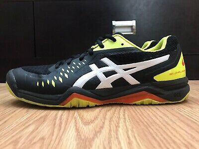 ASICS GEL CHALLENGER 12 Men's Tennis Shoes Size 9.5 Black