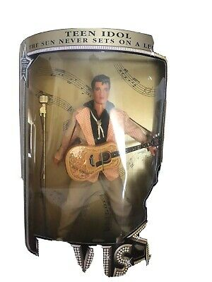 Authetic Elvis Presley Doll Authorised By Elvis Presley Enterprises