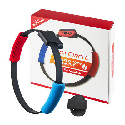 For Nintendo Switch Ring Fit Adventure Fitness Ring Con Leg Strap Set