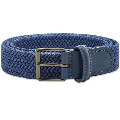 Andersons B0765 Slim Woven Textile Belt RAF Blue 25% OFF