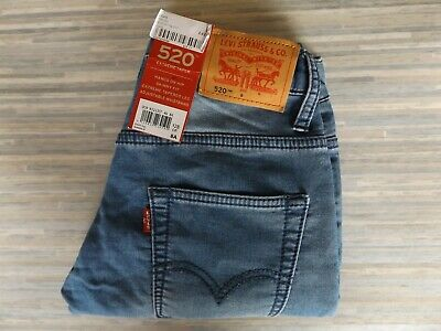 Boys Levi Strauss & Co. 520 Extreme Tapered Blue Jeans Size 8A