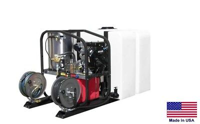 PRESSURE WASHER Commercial - Hot, Cold & Steam - 3.5 GPM - 4000 PSI - Honda Skid