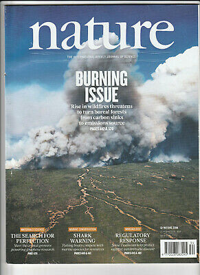 NATURE International Journal Of Science 22 August 2019 - Burning Issue
