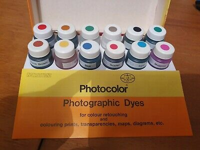 Photocolor Photographic Dyes Photo Retouching maps transparencies prints