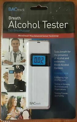 Sealed BACtrack Breath Alcohol Tester T60 Breathalyzer