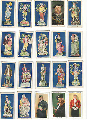 Cigarette Cards Mixed Lot of Many Different Cards. (Estimated 80X)