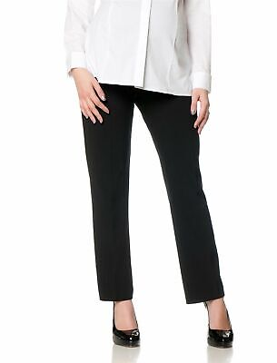 Motherhood Maternity Womens Pants Black Medium PM Petite Dress Stretch $58- 817