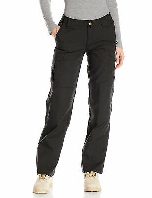 Tru-Spec Womens Pants Ink Black Size 6 Unhemmed EMS Stain-Resistant $50 072