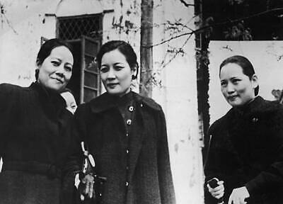 OLD PHOTO The Soong Sisters, Soong Ailing Soong Mayling And Soong Ching-ling