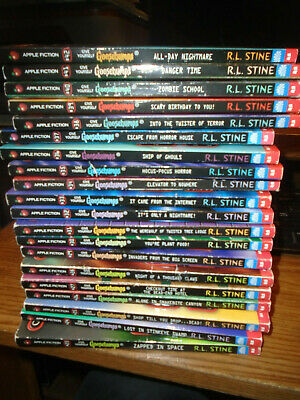 20 GIVE YOURSELF GOOSEBUMPS BOOKS RL.Stine-READER BEWARE-Special Editions!23-42