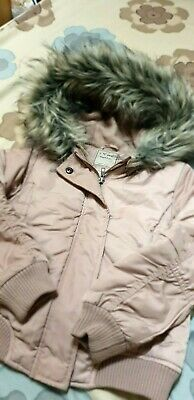 Next Pink Hooded Jacket ! 7 Yrs ! Used
