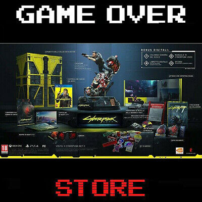 Cyberpunk 2077 Collector's Edition Ps4 Videogame Gioco Playstation 4 Italia
