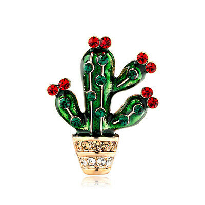Clip Sweater Pin Cactus Style Brooch Pin Fashion Accessories Jewelry Corsage