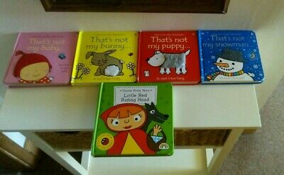 Usborne 'that's Not My' Books touchy feely Books